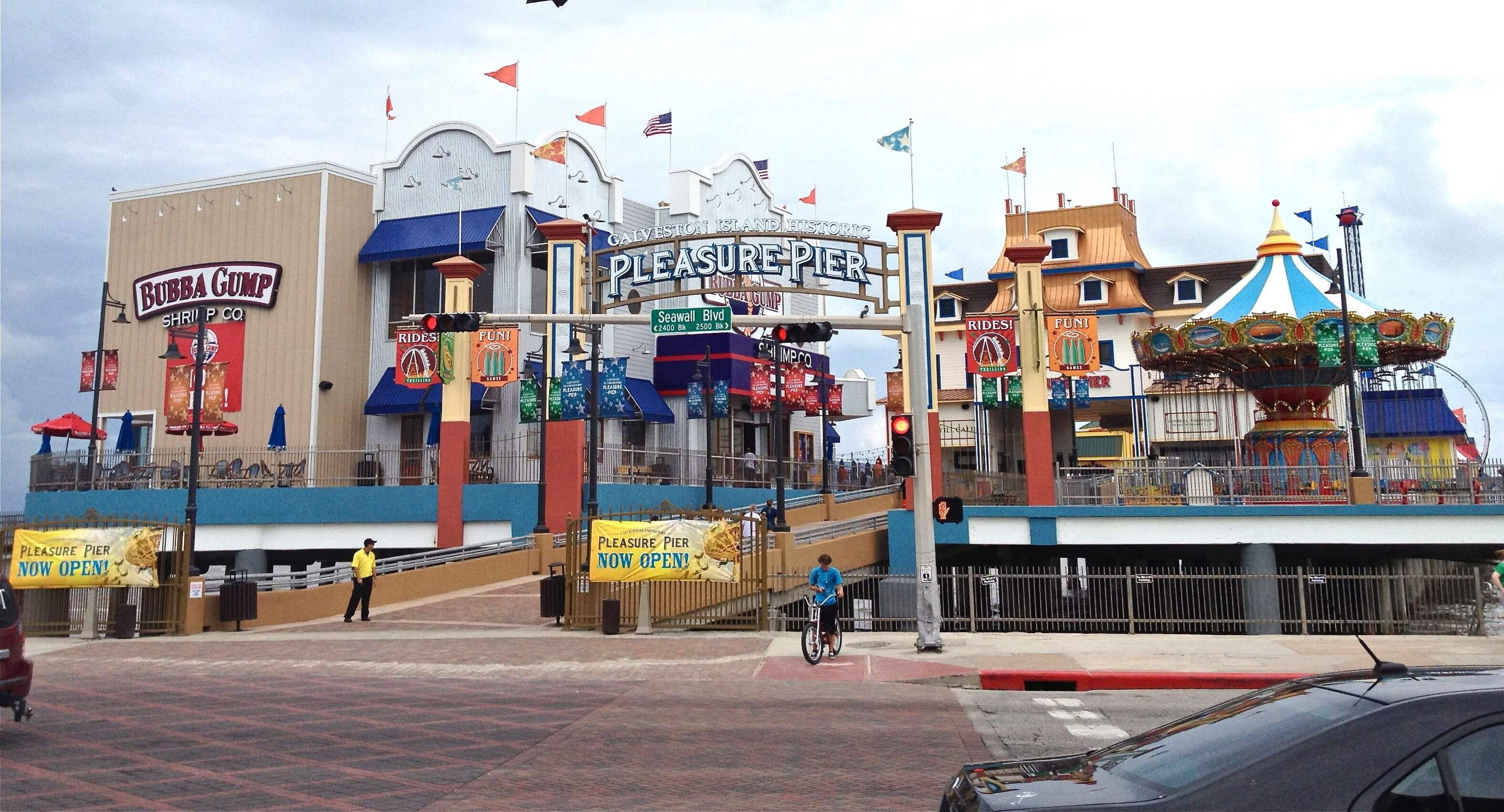 Image of Galveston Island Pleasure Pier